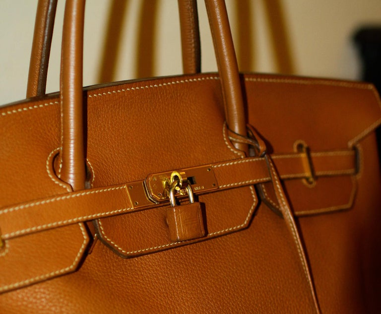 Hermès Birkin Bag 40 from Hermès Staff In Good Condition For Sale In Los Angeles, CA