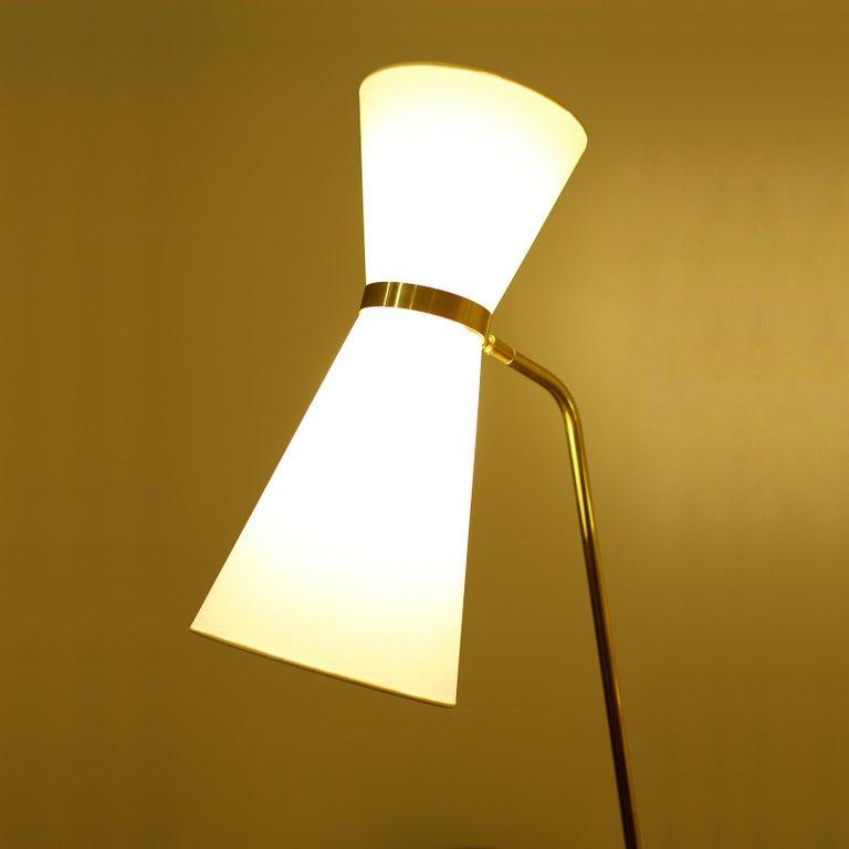 Rare Floor Lamp, Model of Pierre Guariche, 1970 For Sale 3