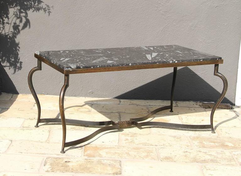 Michel Zadounaisky, Rare Pair of 1930 Art Deco Coffee Tables 2