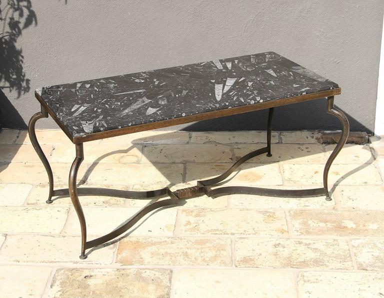 Michel Zadounaisky, Rare Pair of 1930 Art Deco Coffee Tables 4
