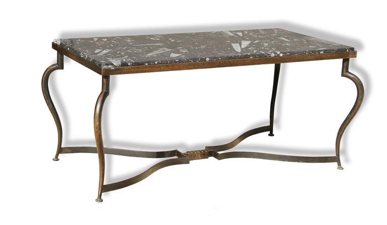 Michel Zadounaisky, Rare Pair of 1930 Art Deco Coffee Tables 6