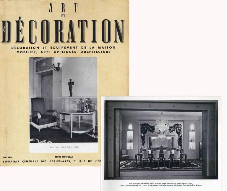 Ivan da Silva Bruhns for André Arbus Impressive Rug, 1938 6
