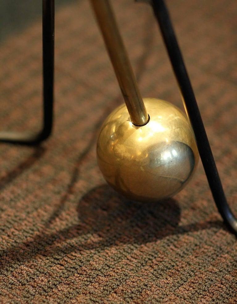 Rare Pair of Floor Lamps, Model of Pierre Guariche, 1970 4