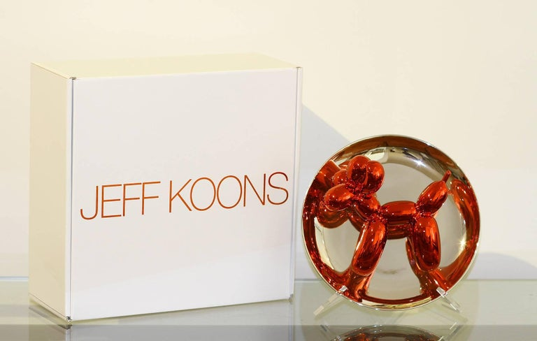 Late 20th Century Jeff Koons Balloon Dog For Sale