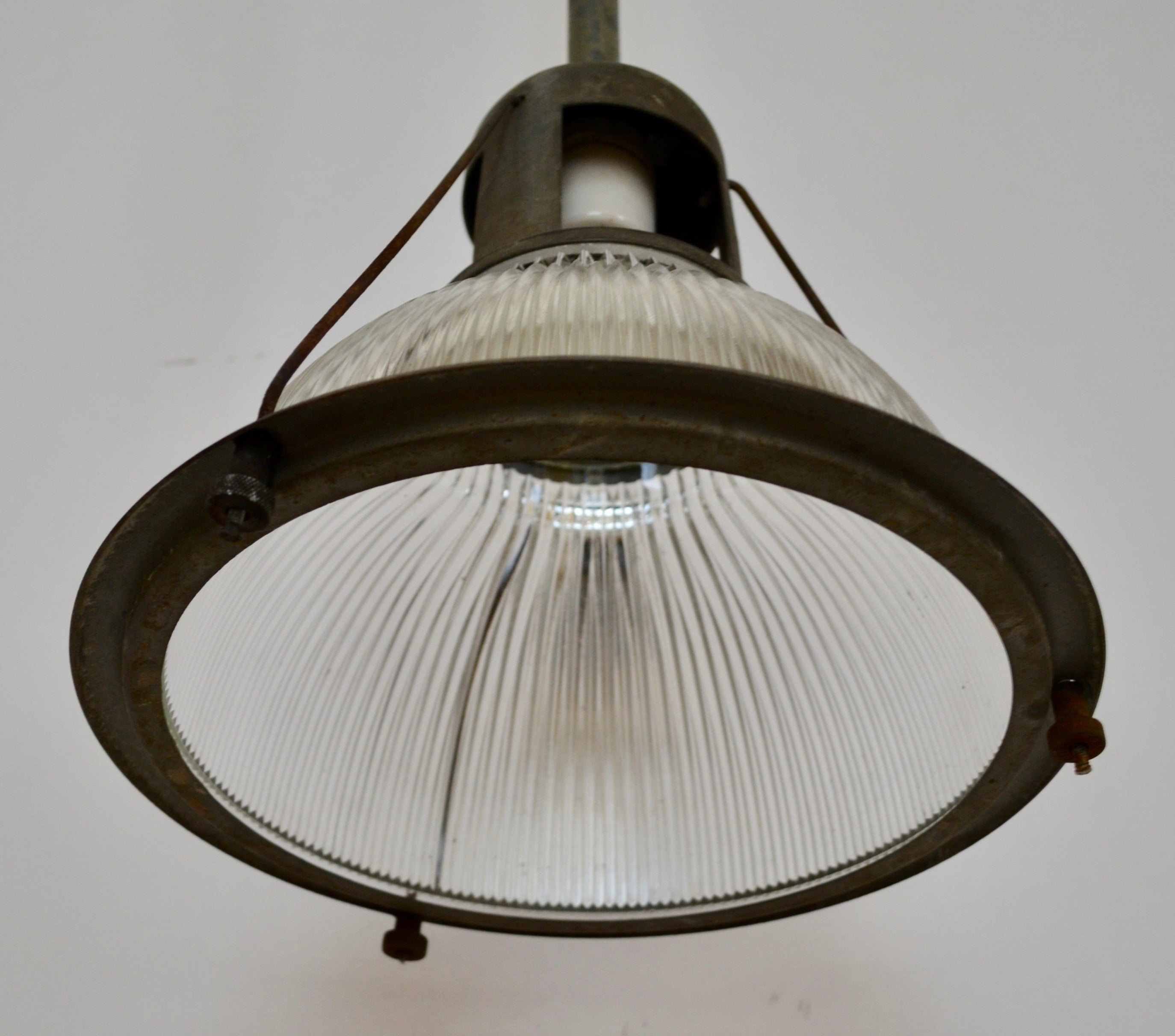 Classic three wire holophane factory light for sale at 1stdibs arubaitofo Images