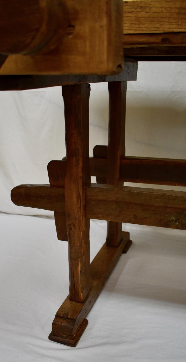 Oak Carpenter's and Joiner's Work Bench For Sale 7