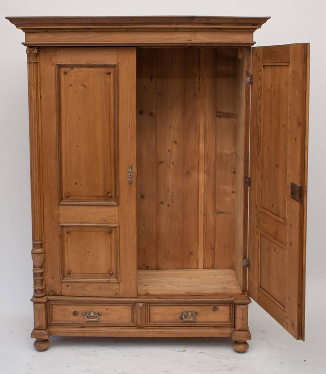 Pine Armoire At 1stdibs