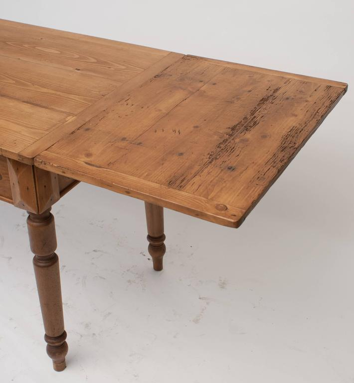 beechwood dining table pine and beech drawleaf table at 1stdibs 1564