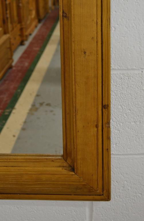 Antique Pine Mirror Frame At 1stdibs