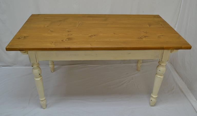 Antique Pine Farmhouse Tables Can Be Hard To Find And So Can Well Made  Reproductions