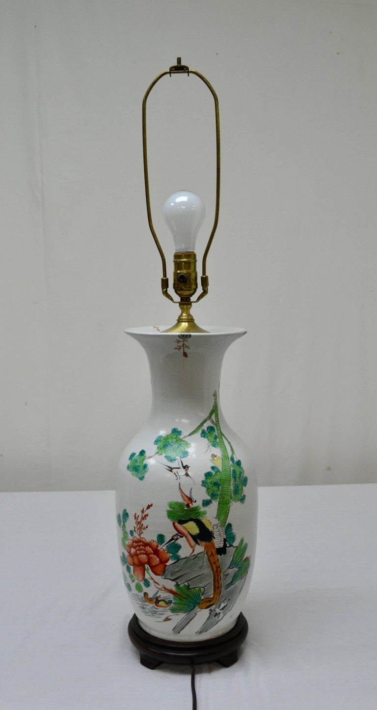 Chinese Porcelain Vase Table Lamp For Sale At 1stdibs