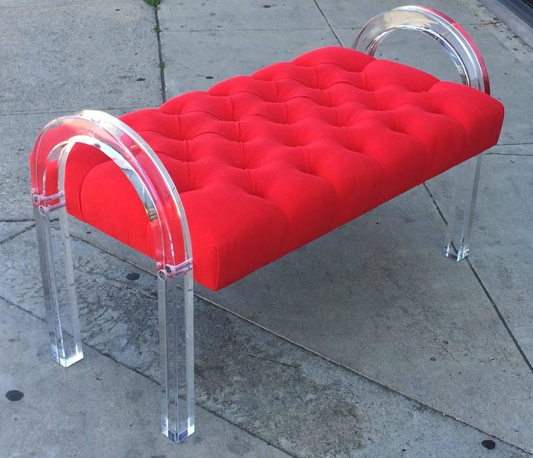 1970s Charles Hollis Jones Bench from the