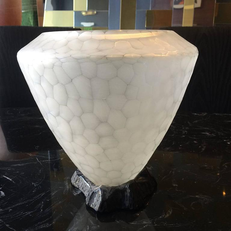 Stunning Murano Glass Vase by Archimede Seguso For Sale 2
