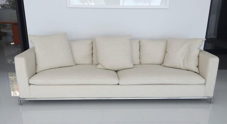 Beautiful And Contemporary George Sofa Designed By Antonio Citterio In 2001 Manufactured B Italia