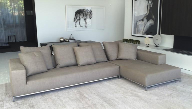 Two Piece George Sectional By Antonio Citterio For B B Italia