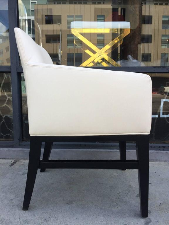 Stunning Set of Six Dunbar Style Vintage Chairs In Good Condition For Sale In West Hollywood, CA