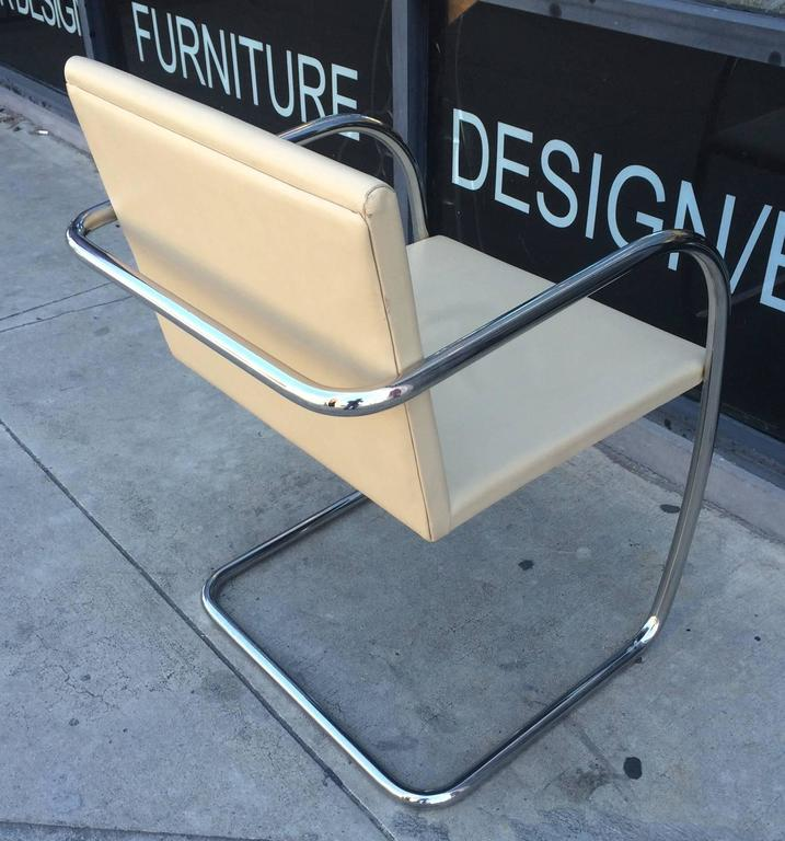 American 15 Brno Chairs by Ludwig Mies van der Rohe for Knoll International, Signed For Sale