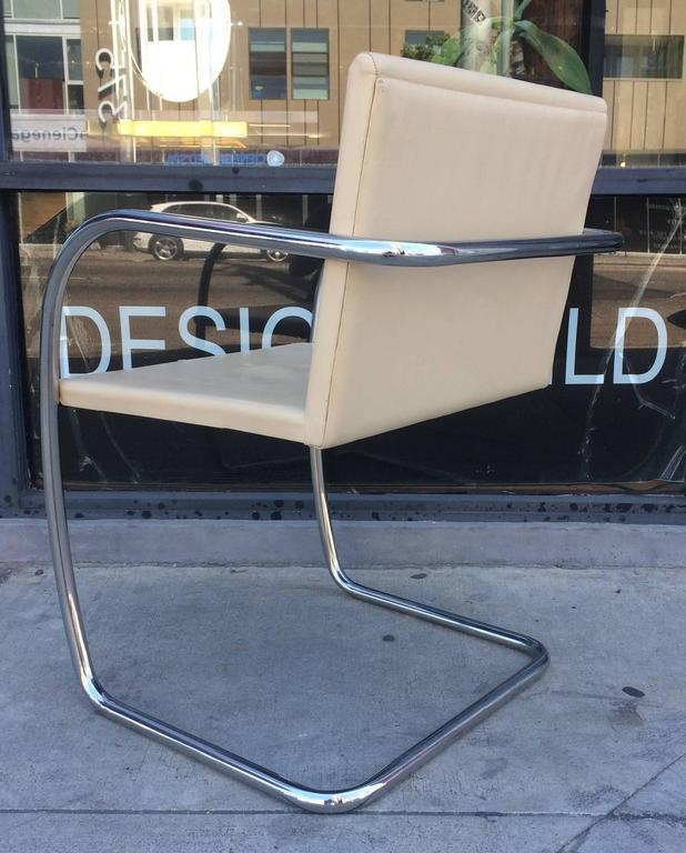 15 Brno Chairs by Ludwig Mies van der Rohe for Knoll International, Signed In Good Condition For Sale In West Hollywood, CA