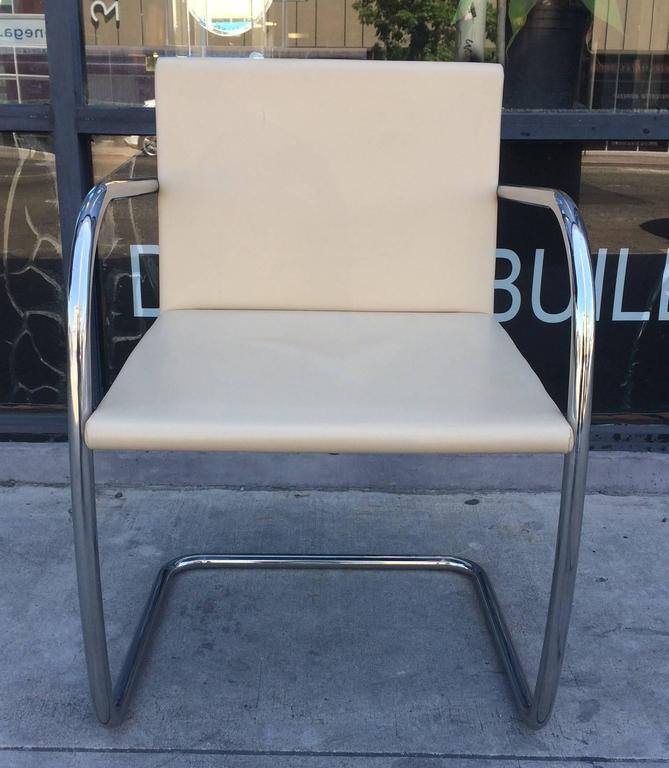 Mid-Century Modern 15 Brno Chairs by Ludwig Mies van der Rohe for Knoll International, Signed For Sale