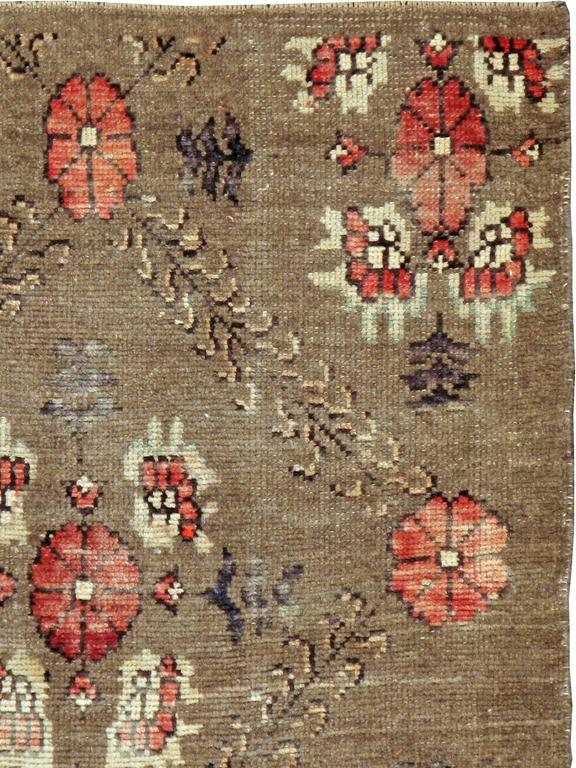 A vintage Turkish carpet from the second quarter of the 20th century.