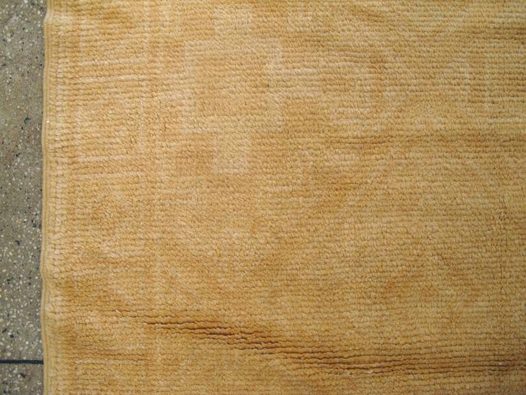20th Century Vintage Spanish Cuenca Carpet For Sale