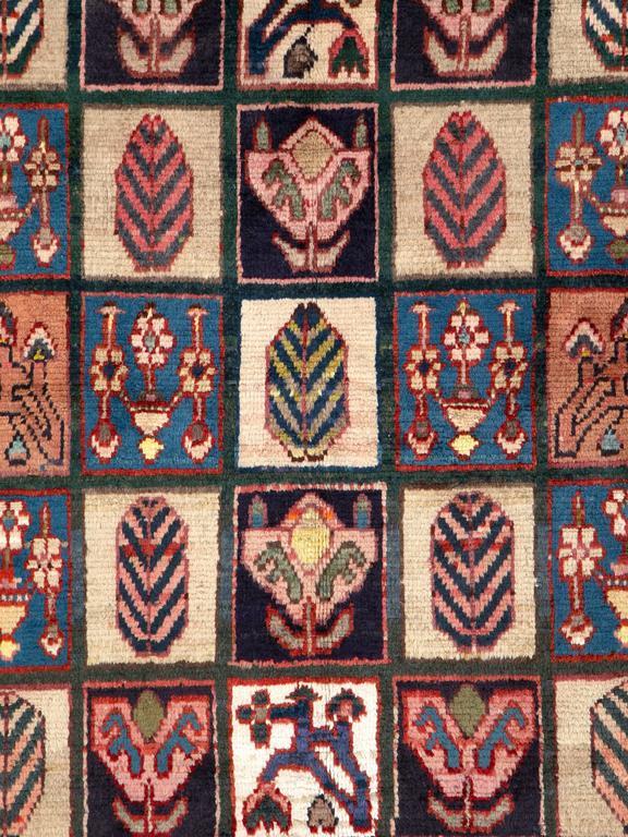 Tribal Vintage Persian Bakhtiari Rug For Sale