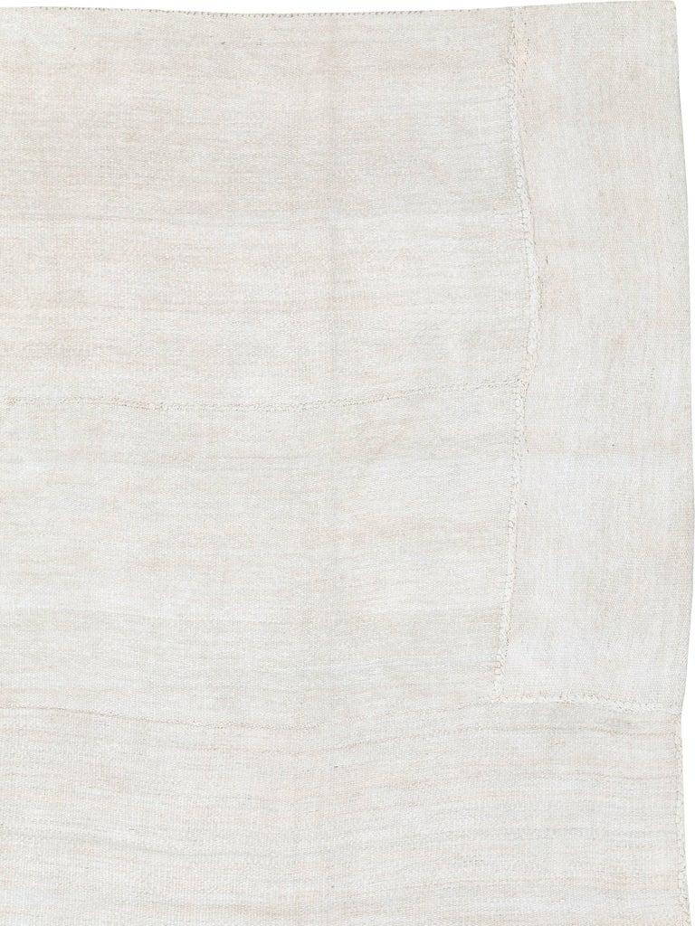 Kilim Vintage Turkish Flat-Weave Carpet For Sale
