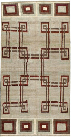 Modern Persian Tabriz Rug