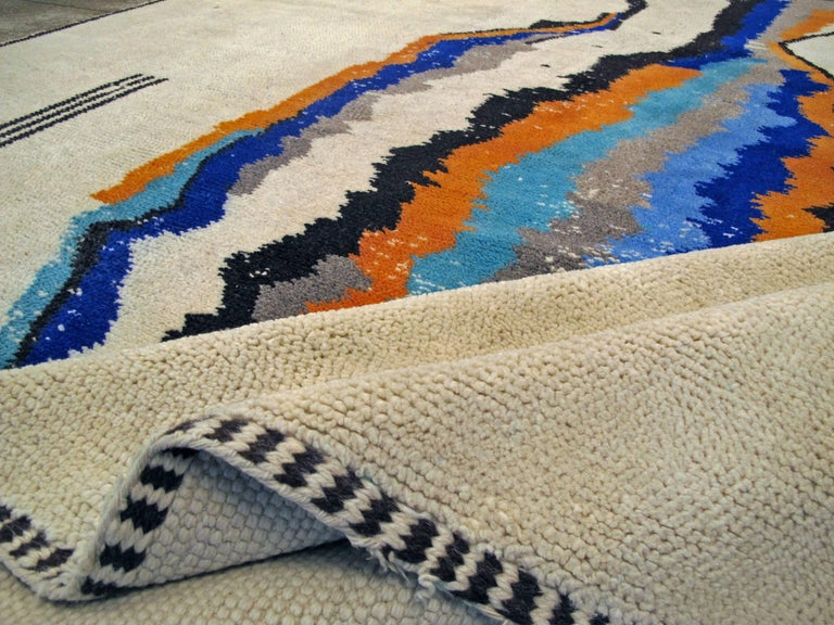 Modern Moroccan Rug For Sale 1