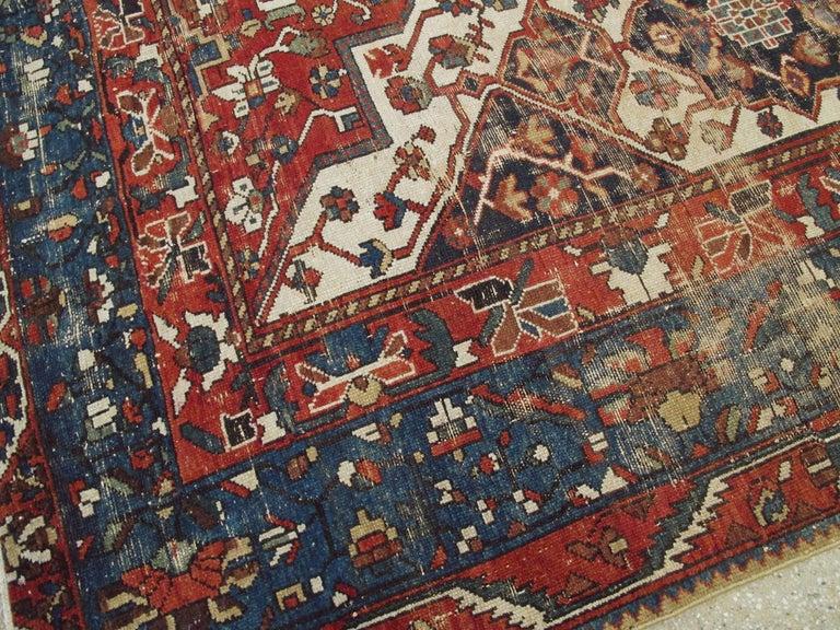 Antique Persian Bakhtiari Rug For Sale 2