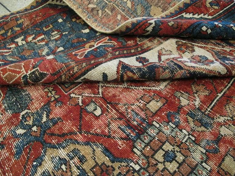 Antique Persian Bakhtiari Rug For Sale 3
