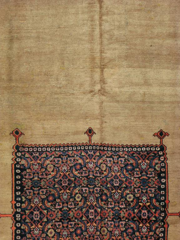Antique Persian Dorokhsh Rug For Sale At 1stdibs