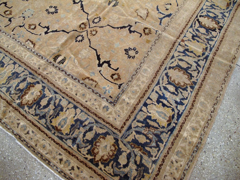 Antique Persian Tabriz Rug For Sale 1