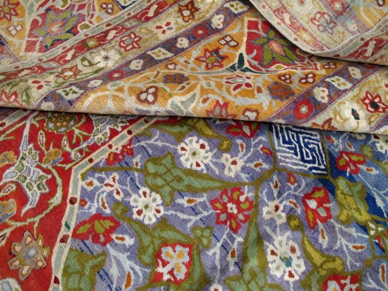 Antique Persian Tabriz Rug For Sale 5