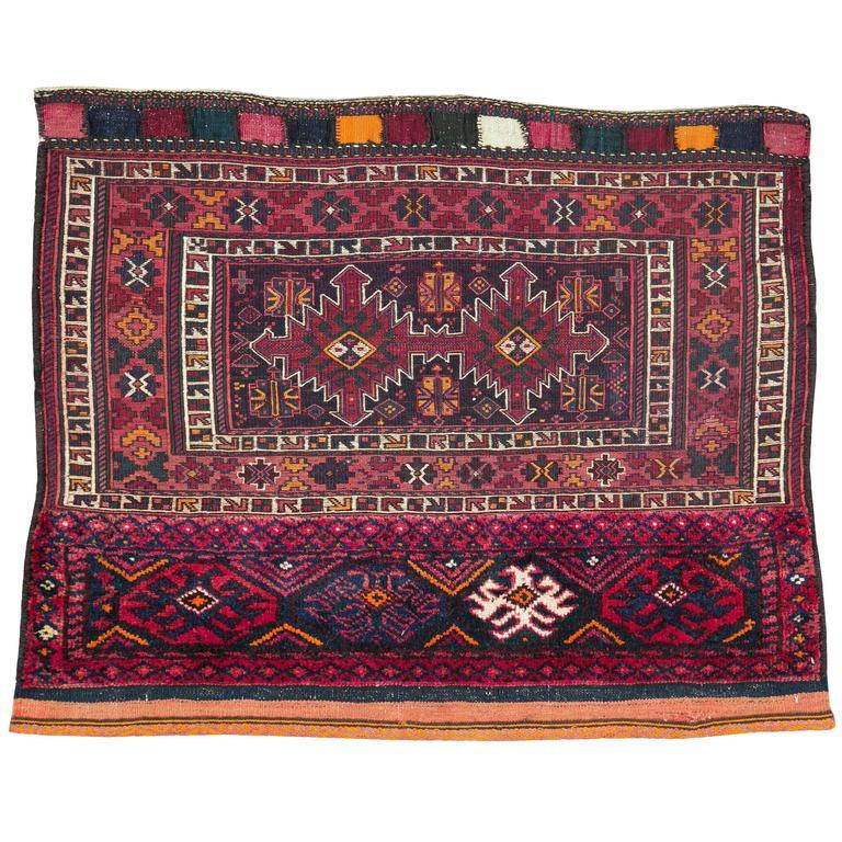 Vintage Uzbek Tribal Rug For Sale At 1stdibs