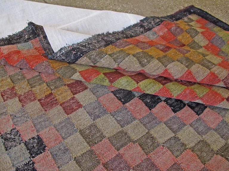 Vintage Persian Kilim Flat-Weave For Sale 3