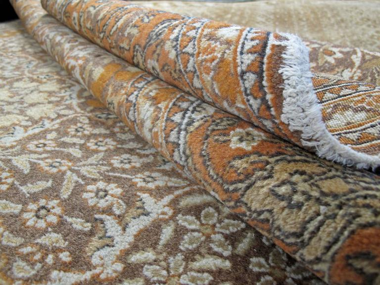 20th Century Vintage Persian Mashad Rug For Sale