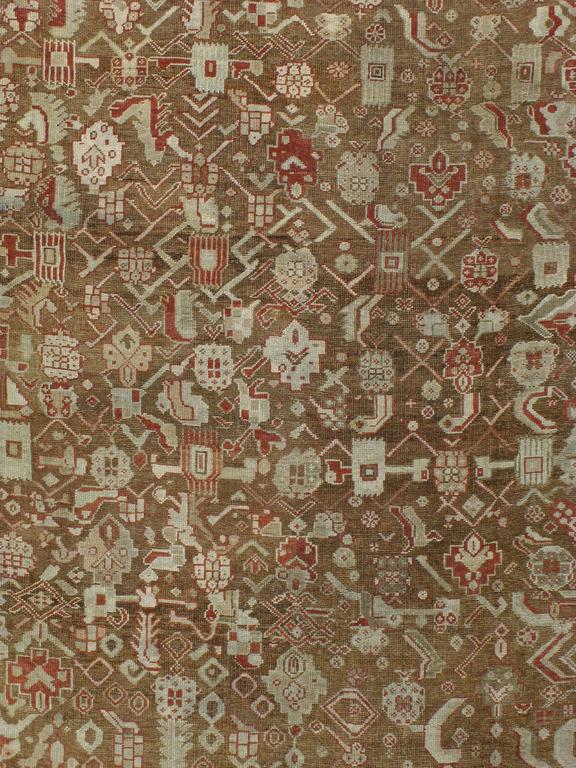 Early 20th century Turkish Ghourdes carpet.