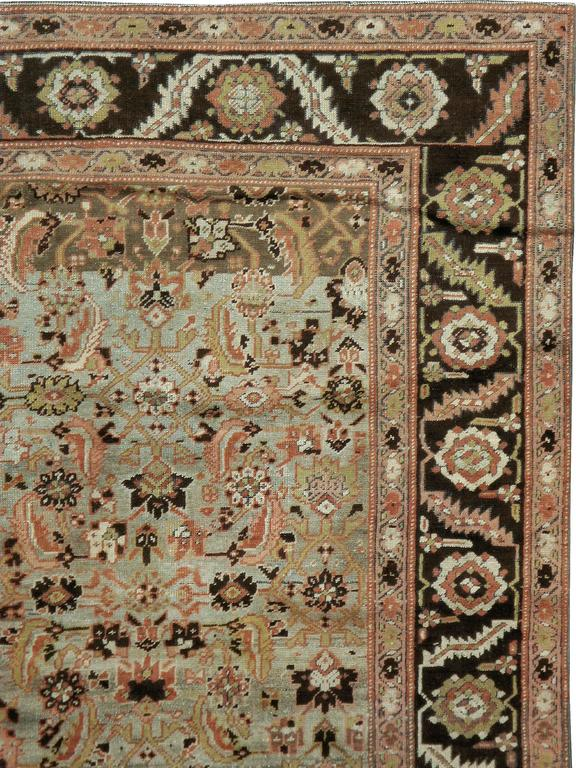 Antique Russian Karabagh Rug In Good Condition For Sale In New York, NY