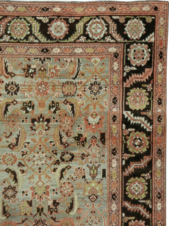 Hand-Woven Antique Russian Karabagh Rug For Sale