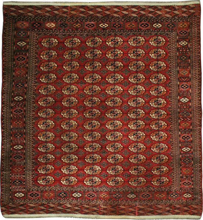 Antique Turkmen Tekke Rug For Sale At 1stdibs