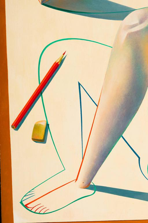 Original Oil on Canvas Painting by Georgy Kurasov For Sale 3