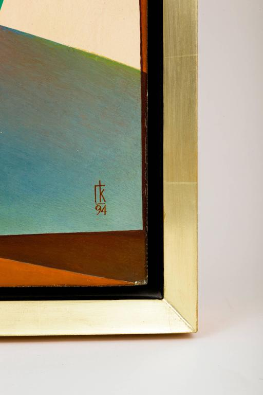 Original Oil on Canvas Painting by Georgy Kurasov In Excellent Condition For Sale In Brooklyn, NY