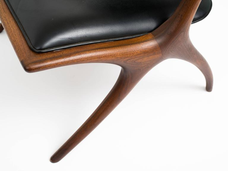 American Early and Rare Evert Sodergren 'Sculptured' Chair, circa 1955 For Sale