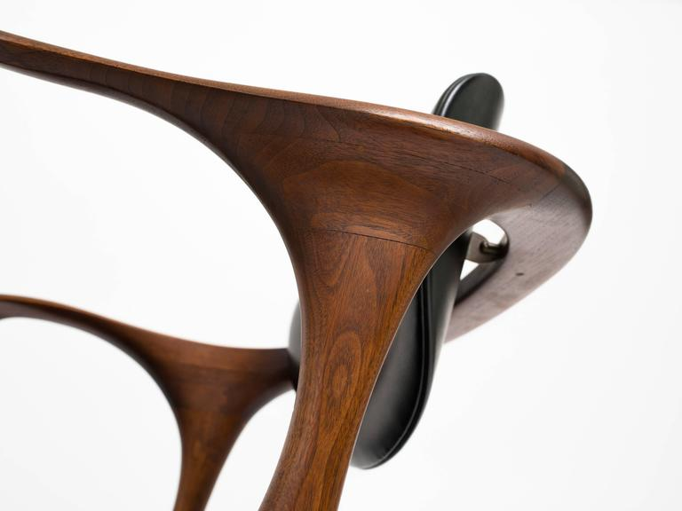 Mid-20th Century Early and Rare Evert Sodergren 'Sculptured' Chair, circa 1955 For Sale