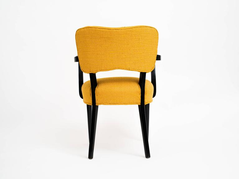 American Pair of 1960s Modern Armchairs or Side Chairs in the Manner of Gilbert Rohde For Sale