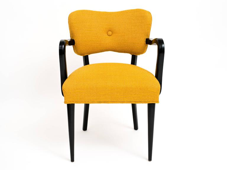 Pair of 1960s Modern Armchairs or Side Chairs in the Manner of Gilbert Rohde In Good Condition For Sale In Brooklyn, NY