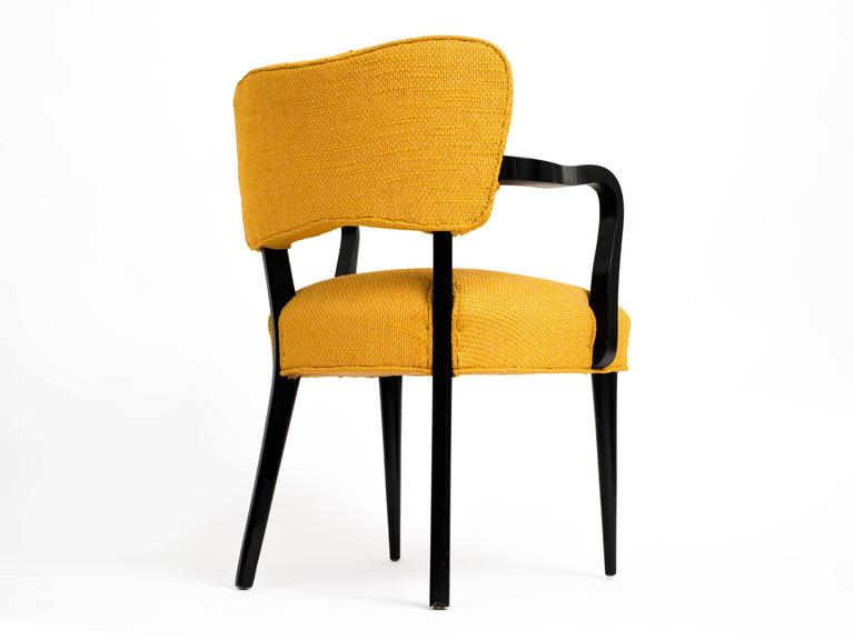 Mid-20th Century Pair of 1960s Modern Armchairs or Side Chairs in the Manner of Gilbert Rohde For Sale