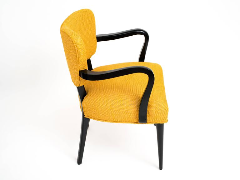 Pair of 1960s Modern Armchairs or Side Chairs in the Manner of Gilbert Rohde For Sale 1