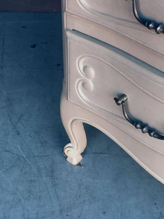 Painted French Chest of Drawers For Sale 3